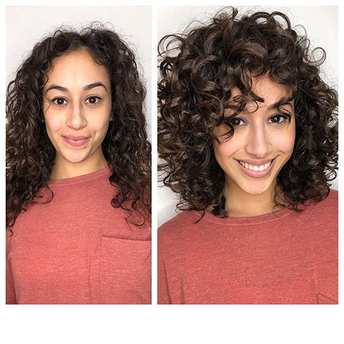 Curly Hair And Bangs