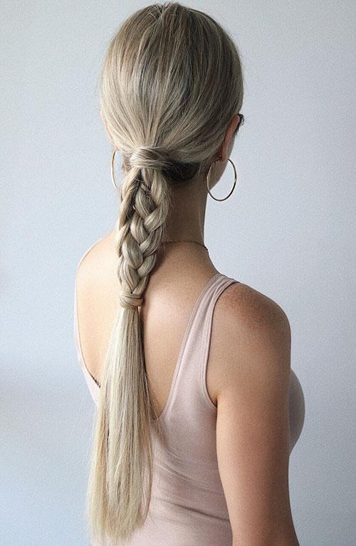 Easy Hair Braids For Long Hair