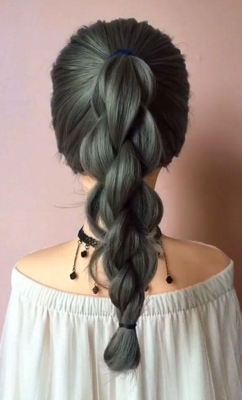 Cute Long Braided Hairstyles