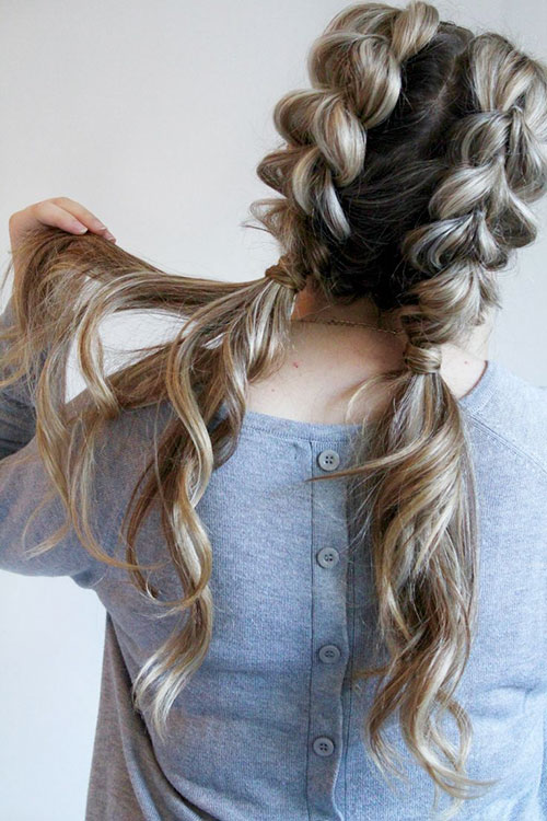 Cute Hairstyles For Braided Hair