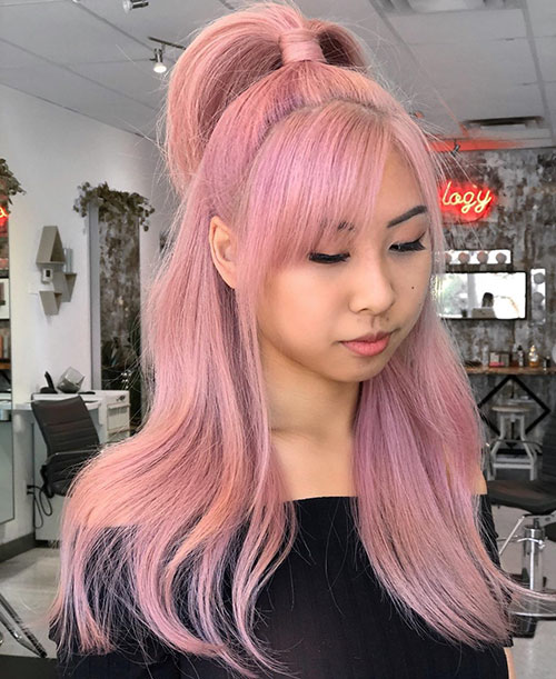 40 Pink Hair Color Ideas That Ll Inspire Your Next Look New Hairstyles Haircuts