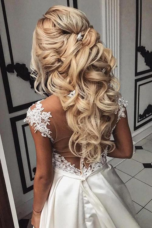 Long Half Curly Hair