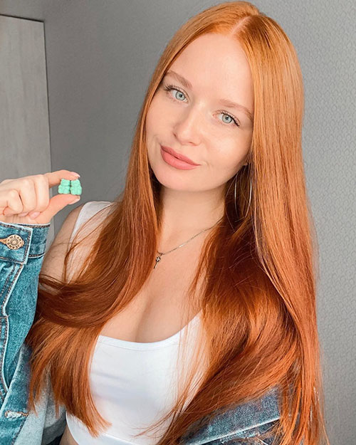 Red Hair Color Images
