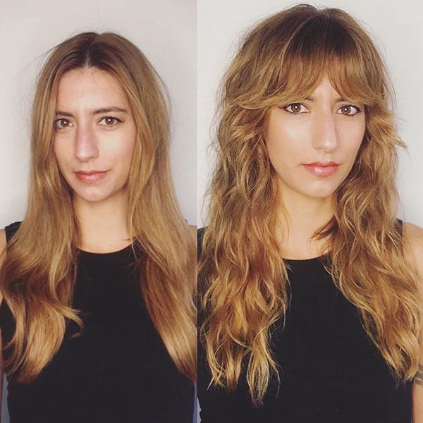 Long Hairstyles With Bangs