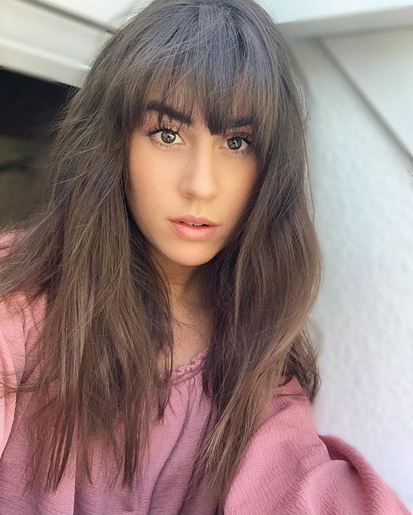 Hot Brown Hair Color