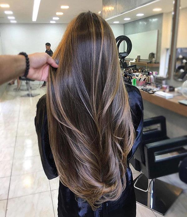 Balayage Long Hairstyle Women