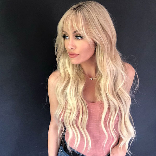 Images Of Long Hair With Bangs