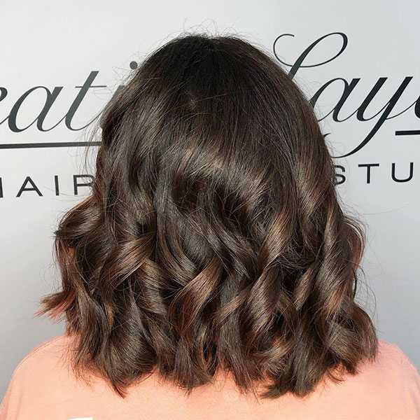 Pictures Of Medium Layered Haircuts