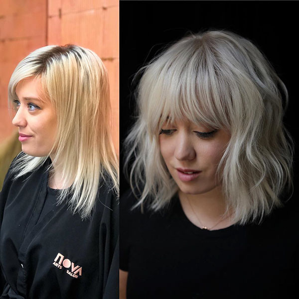 Super Short Hair With Bangs