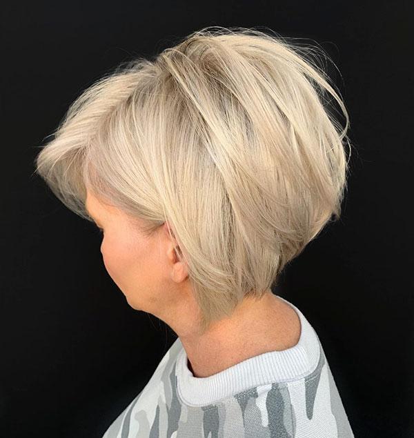 Beautiful Short Blonde Hair