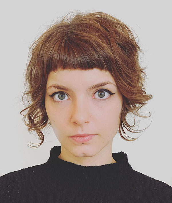 Best Short Haircuts With Bangs