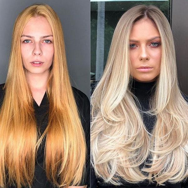 Balayage Long Hairstyle For Women