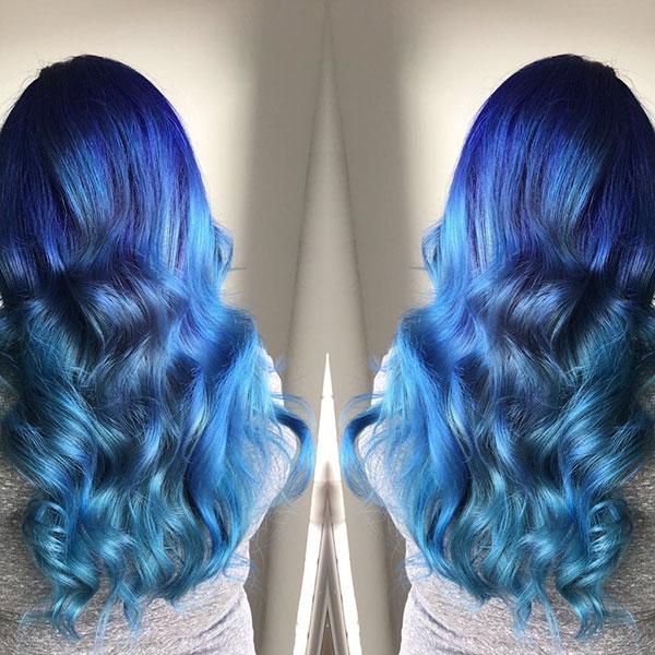 Blue Long Hair