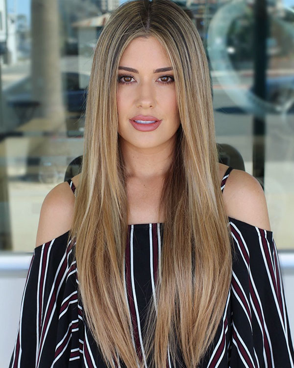 Hairstyles For Long Brown Hair