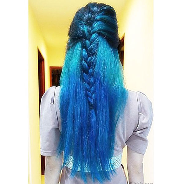 Blue Hair Ideas For Long Hair