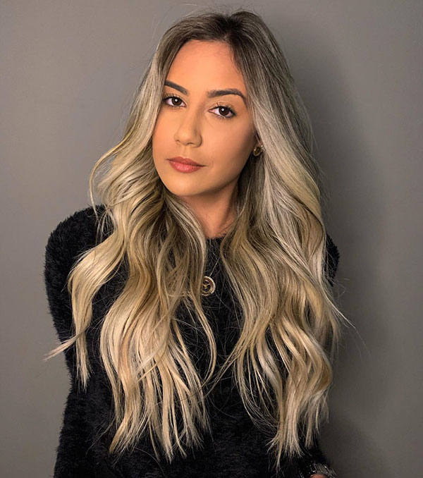 Images Of Long Blonde Hairstyles