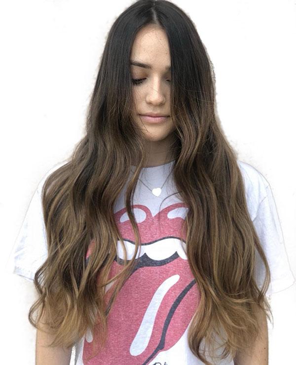Long Hair Styles Brown