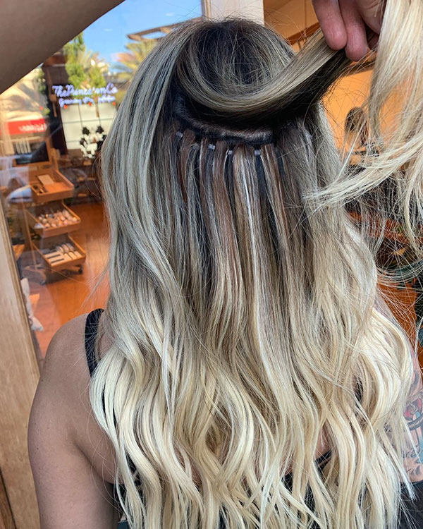 Pictures Of Long Blonde Hair