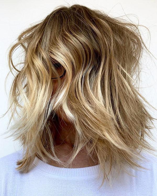 Super Short Blonde Hair
