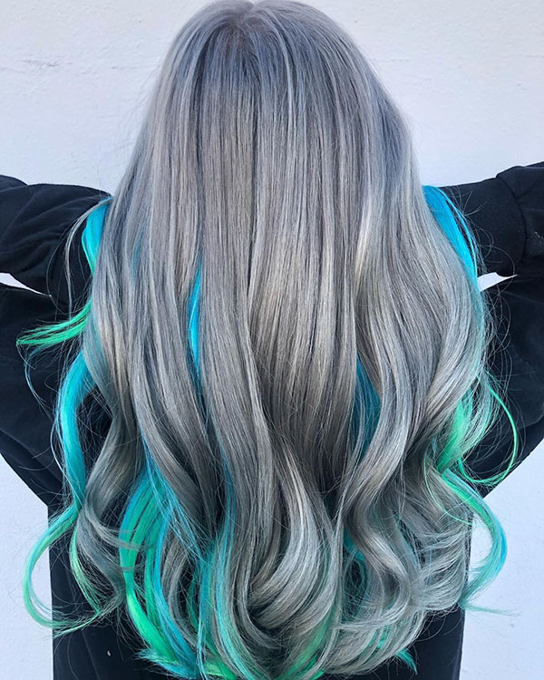Blue Hair Images
