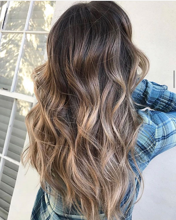 Haircut And Color Ideas For Long Brown Hair