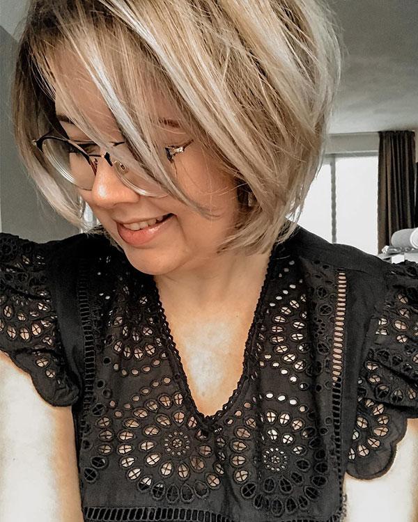 Blonde Short Hair 2020