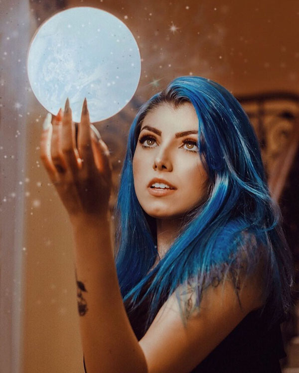 Blue Hair Color Ideas