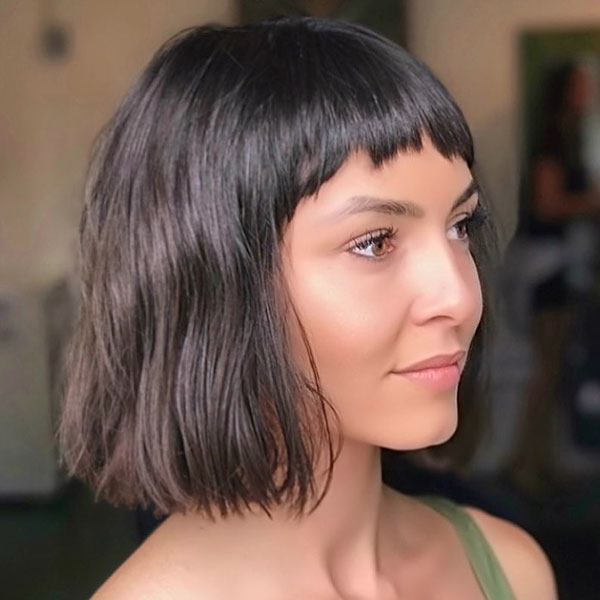 Short Hairstyles With Short Bangs
