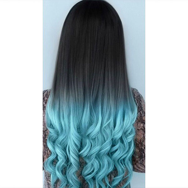 Long Hair Blue