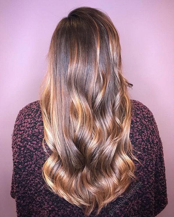 Brown Hair Long Hairstyles