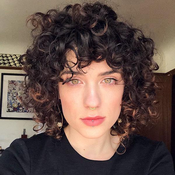 Short Hair And Bangs