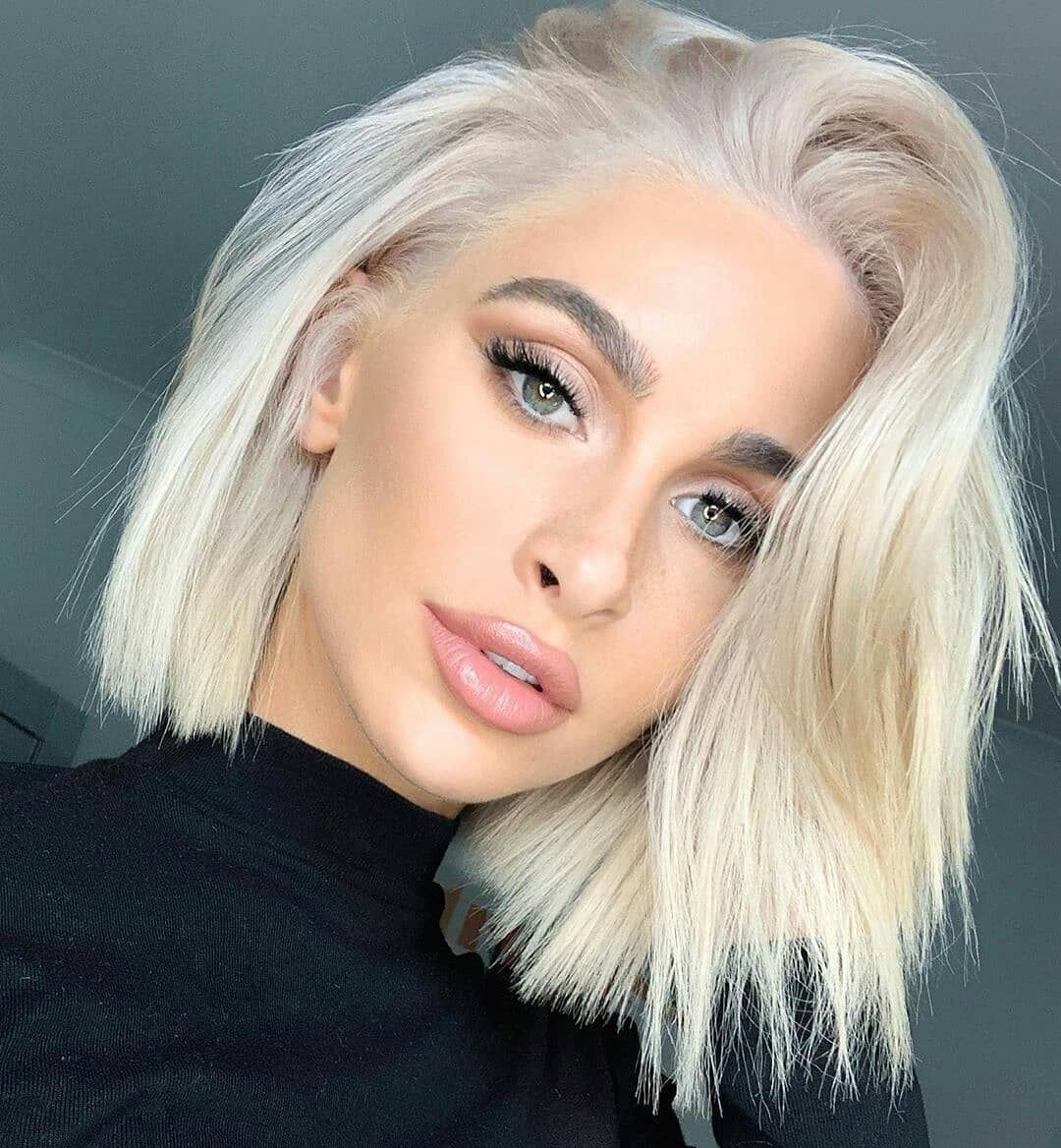 Hairstyles For Short Blonde Hair