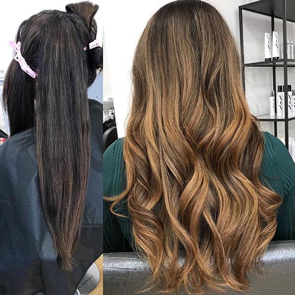 Long Brown Hair Color