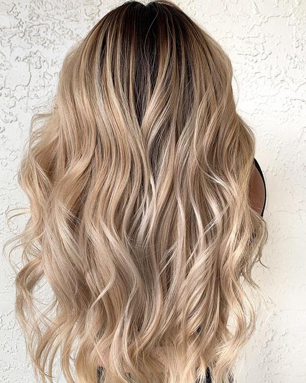 Balayage Images For Long Haircut