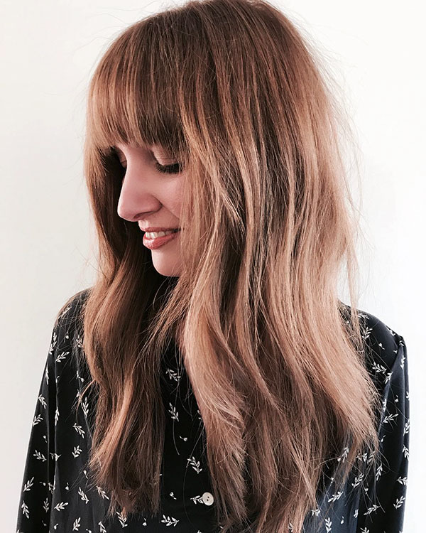 Chic Layered Hairstyles