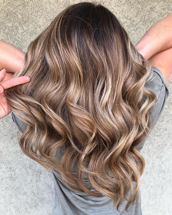 Amazing Balayage Hair For Long Haircut
