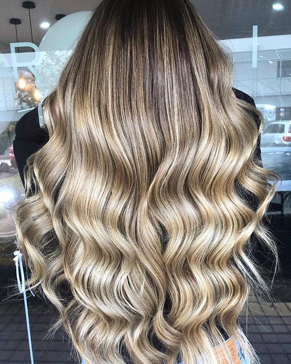 Blonde Long Haircuts