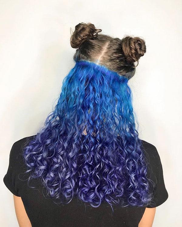 Ideas For Blue Hair