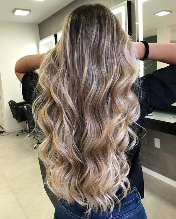 Balayage For Girls With Long Hair