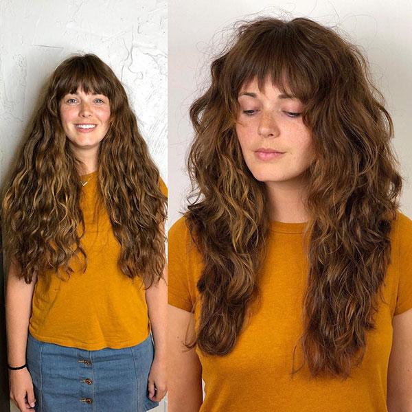 Long Hair With Bangs 2020