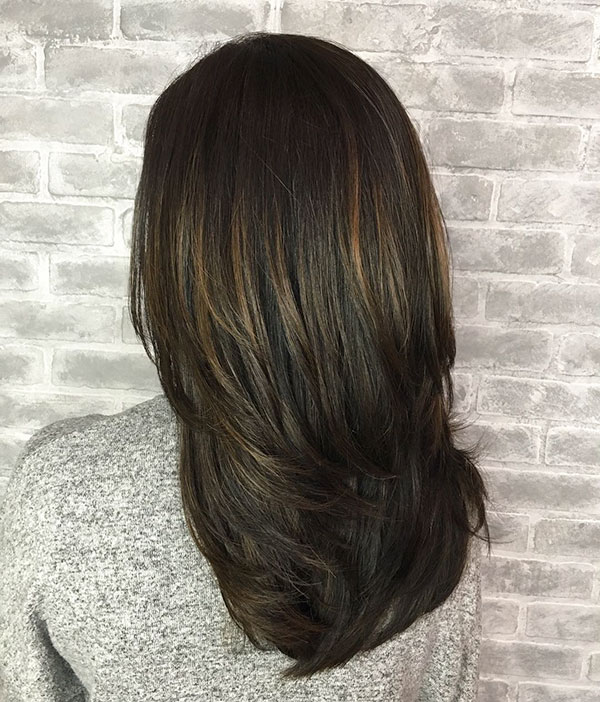 Pictures Of Layered Haircuts