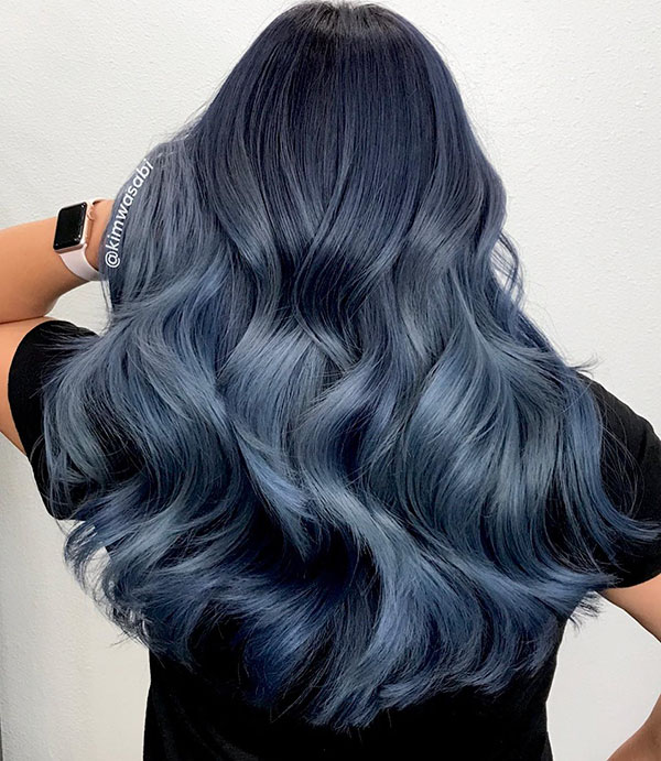 Awesome Blue Long Hair